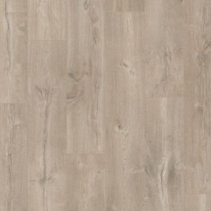 Light grey Perspective Wide Laminate Caribbean oak grey UFW1536